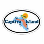 Captiva Island. Photo Sculpture Magnet