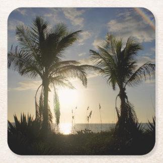 Captiva Island Square Paper Coaster