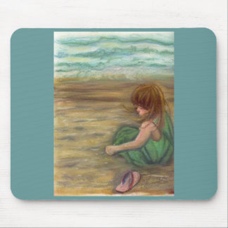 Captiva Princes Pastel Drawing Mouse Pad