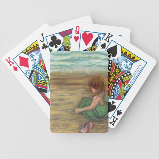 Captiva Princes Pastel Drawing Bicycle Playing Cards