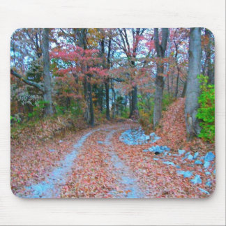 Captivating Autumn Afternoon Drive Mouse Pad