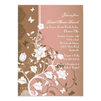 Captivating Floral Invitation