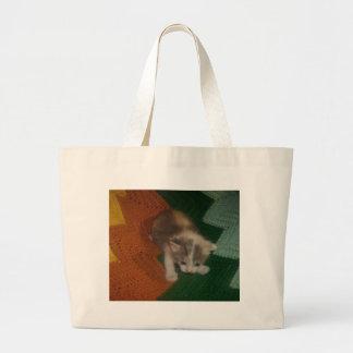 Captivating Kitten Tote Bag