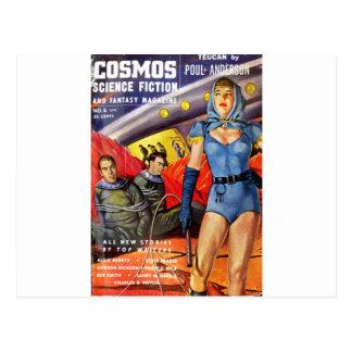 Captive Astronauts Postcard