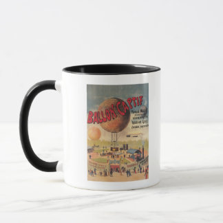 Captive Balloon Rides at a Exposition Poster Mug
