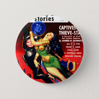Captive of the Thieves Star Pinback Button