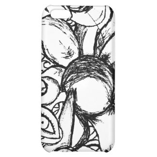 Captive Root BW Cover For iPhone 5C