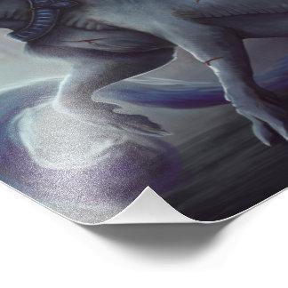 Captive Unicorn Print