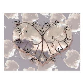 Captive Valentine Heart! Postcard