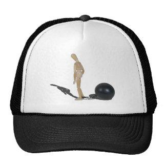 CaptiveByBallAndChain042014.png Trucker Hat