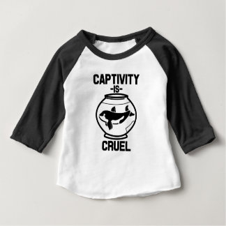 Captivity is Cruel baby shirt