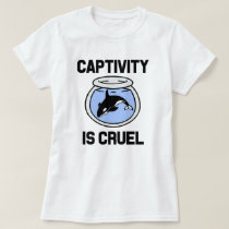 Captivity is Cruel women's shirt