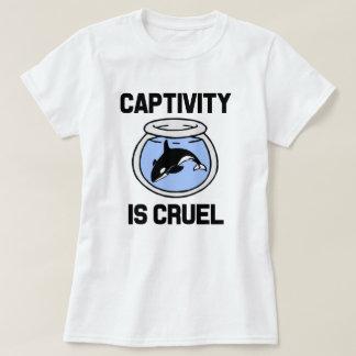 Captivity is Cruel women's shirt