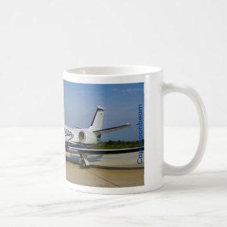 CAPTMOONBEAM Cessna Citation Bravo Classic White Coffee Mug