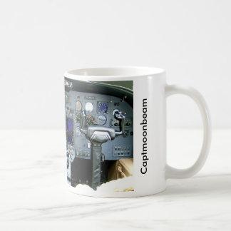 CAPTMOONBEAM Cessna Citation II Instrument Panel Classic White Coffee Mug