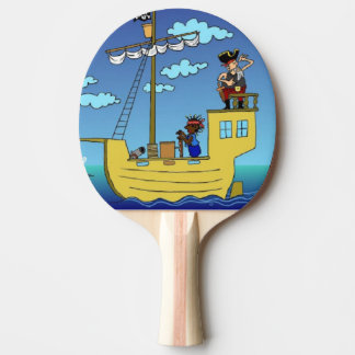 Capt'n Ping Pong Bat by DAL Ping-Pong Paddle