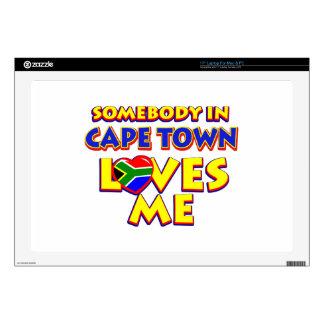 Captown City flag designs Laptop Decal
