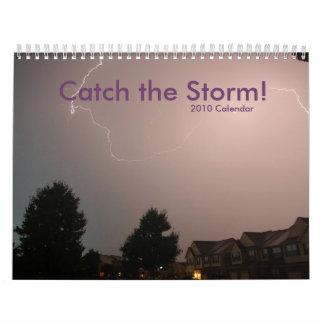 ¡Captura 2010 la tormenta Calendario