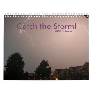 ¡Captura 2010 la tormenta! Calendario