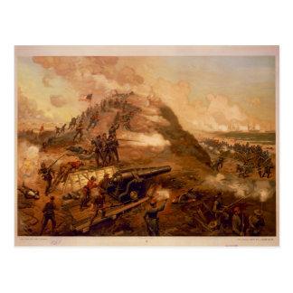 Captura americana de la guerra civil del fuerte Fi Postal