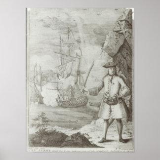 Captura de capitán Avery Posters
