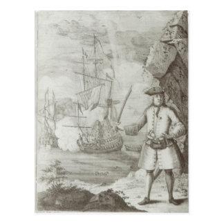 Captura de capitán Avery Postal