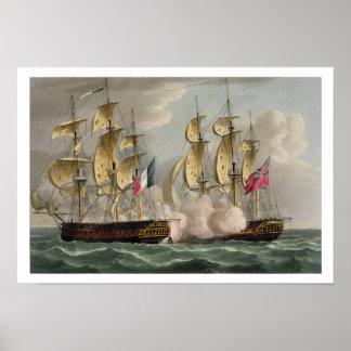 Captura de L Immortalite el 20 de octubre de 1798 Impresiones
