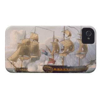 Captura de la Liguria, el 7 de agosto de 1798, gra Case-Mate iPhone 4 Protectores