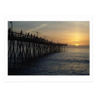 Captura de la salida del sol tarjetas postales