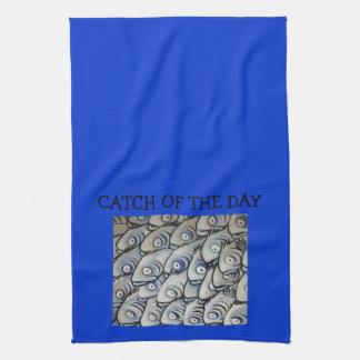 CAPTURA de la toalla de cocina del diseño del DÍA