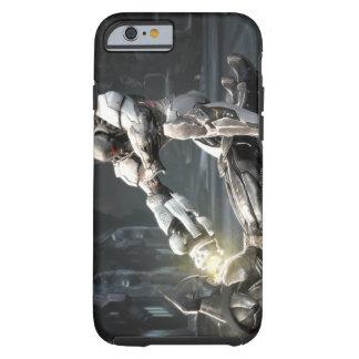 Captura de pantalla Batman contra Cyborg Funda De iPhone 6 Shell