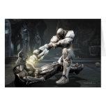 Captura de pantalla: Batman contra Cyborg Tarjeta De Felicitación