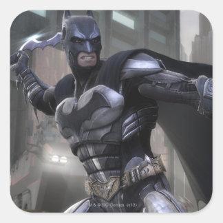 Captura de pantalla: Batman Pegatinas Cuadradas