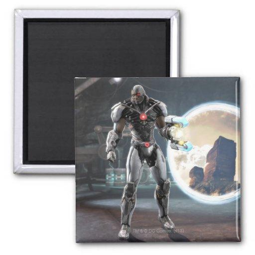 Captura de pantalla: Cyborg 3 Iman Para Frigorífico