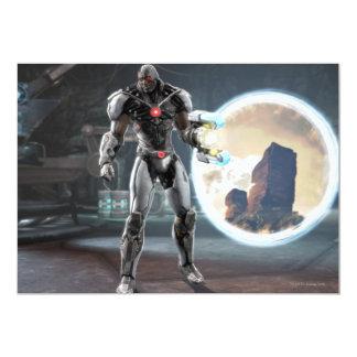 Captura de pantalla: Cyborg 3 Invitación 12,7 X 17,8 Cm
