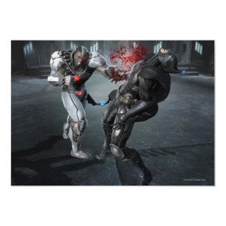 Captura de pantalla: Cyborg contra Batman Invitación 12,7 X 17,8 Cm