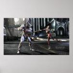 Captura de pantalla: Cyborg contra Harley Póster