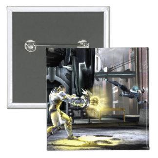 Captura de pantalla Cyborg contra Nightwing 2 Pins
