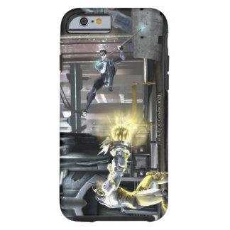Captura de pantalla Cyborg contra Nightwing 2 Funda De iPhone 6 Shell