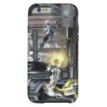Captura de pantalla: Cyborg contra Nightwing 2 Funda Resistente iPhone 6