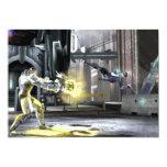 """Captura de pantalla: Cyborg contra Nightwing 2 Invitación 5"""" X 7"""""""