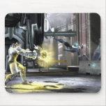 Captura de pantalla: Cyborg contra Nightwing 2 Mousepad