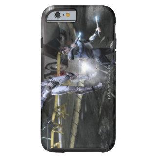 Captura de pantalla Cyborg contra Nightwing 3 Funda De iPhone 6 Shell