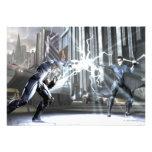 Captura de pantalla: Cyborg contra Nightwing 4 Invitacion Personalizada