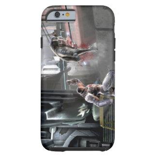 Captura de pantalla Cyborg contra Nightwing Funda De iPhone 6 Shell