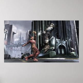 Captura de pantalla: Flash contra Grundy 3 Póster