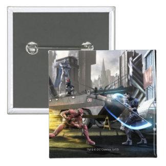 Captura de pantalla Flash contra Nightwing Pin