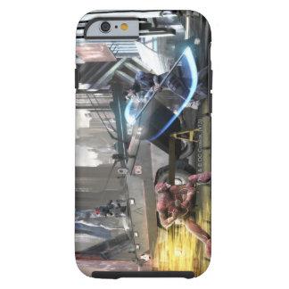 Captura de pantalla Flash contra Nightwing Funda De iPhone 6 Shell
