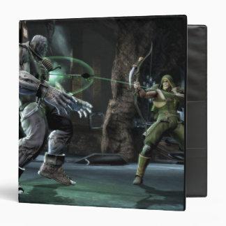 """Captura de pantalla: Grundy contra flecha verde Carpeta 1 1/2"""""""