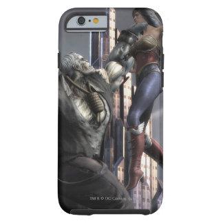 Captura de pantalla Grundy contra Mujer Maravilla Funda De iPhone 6 Shell